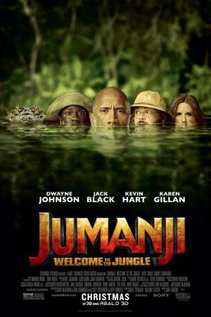 Jumanji Welcome to the Jungle 2017 HDCAM Latino 720p Spacemov