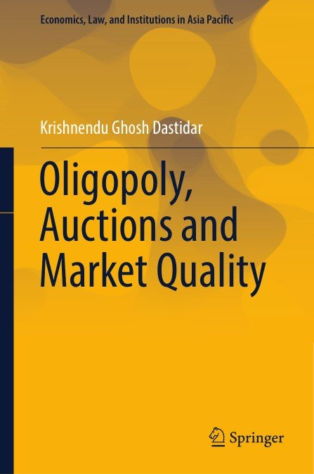 oligopoly and market Definition of oligopoly: a market dominated by a small number of participants who are able to collectively exert control over supply and market prices.