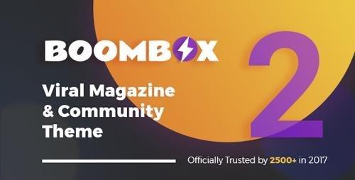 ThemeForest - BoomBox v2.1.1 - Viral Magazine WordPress Theme - 16596434