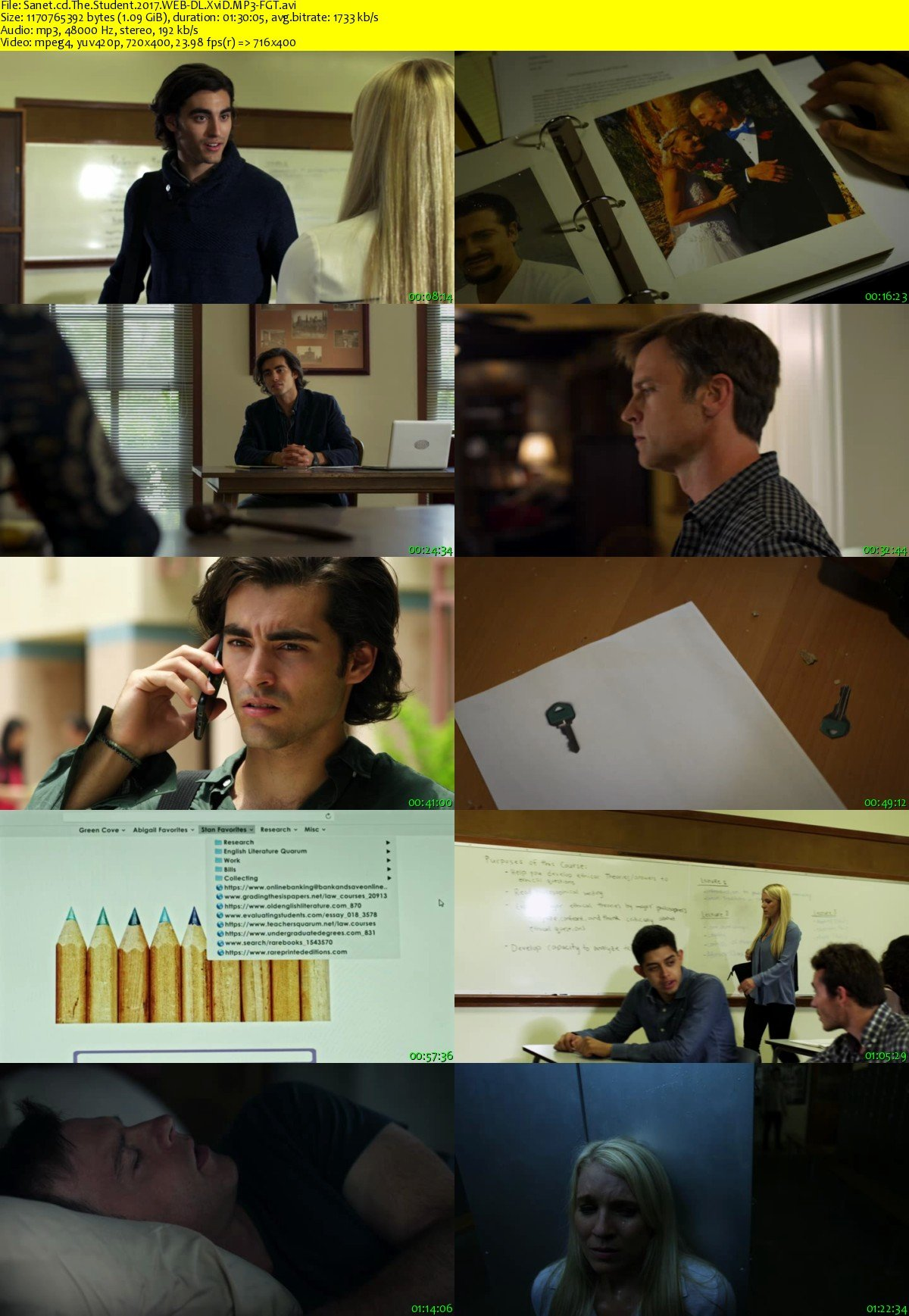 Download The Student 2017 WEB-DL XviD MP3-FGT - SoftArchive