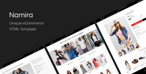 ThemeForest - Namira v1.0 - Unique eCommerce HTML Template - 20792313