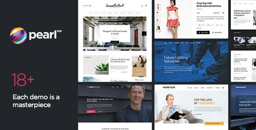 ThemeForest - Pearl WP v1.9.1 - Corporate Business WordPress Theme - 20432158 - NULLED