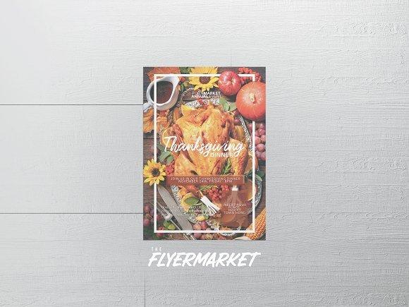 Thanksgiving Dinner Flyer Template 2161865
