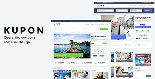 ThemeForest - KUPON - Deals & Discounts - Material Design (Update 30 August 15) - 11629254