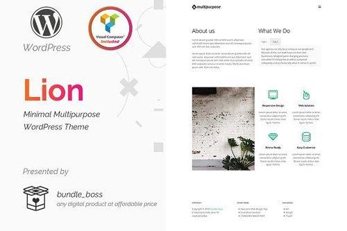 Lion v1.0.0 - Minimal Multipurpose WordPress - CM 2181030
