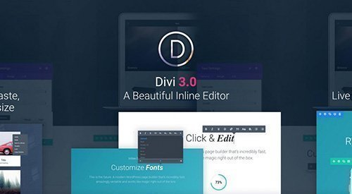 ElegantThemes - Divi v3.0.95 - WordPress Theme