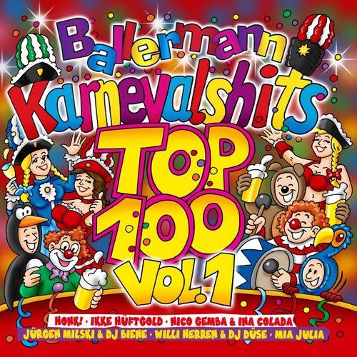 Ballermann Karnevalhits Top 100 Vol 1 (2018