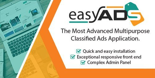 CodeCanyon - EasyAds v1.1.1 - Powerful Classified Ads CMS - 20167340