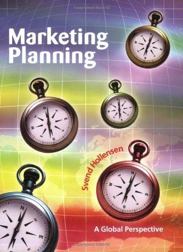 Svend Hollensen – Marketing Planning: A Global Perspective