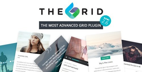 CodeCanyon - The Grid v2.6.0 - Responsive WordPress Grid Plugin - 13306812 - NULLED