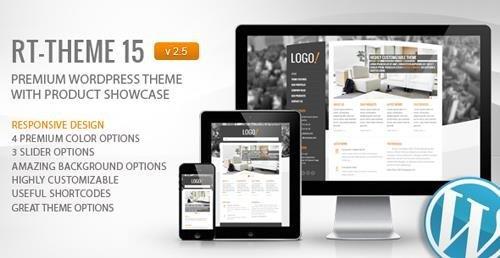 ThemeForest - RT-Theme 15 v2.5.6.2 - Premium Wordpress Theme - 781397