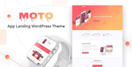 ThemeForest - Moto v1.1.0 - WordPress Landing Page Theme - 20693250
