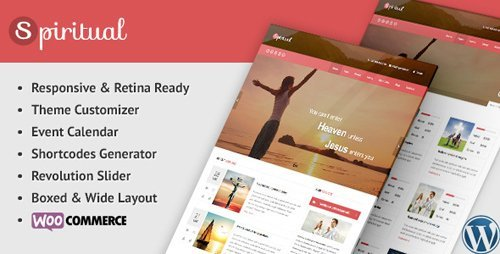 ThemeForest - Spiritual v2.13 - Church WordPress Theme (Responsive) - 8909366