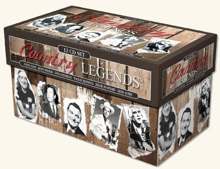 VA - Country Legends (12 CD Box-Set) - 2005 MP3