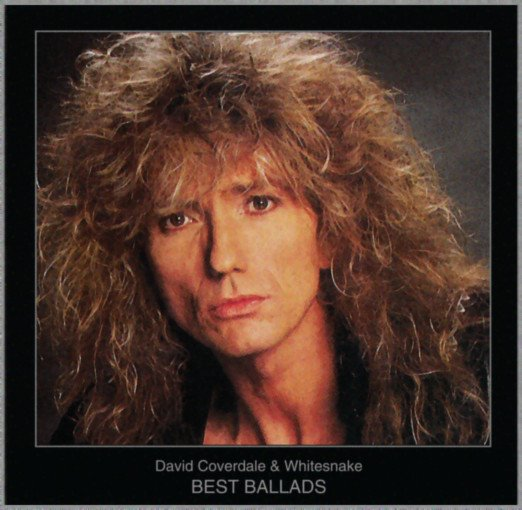 David Coverdale, Whitesnake - Best Ballads (2018) MP3