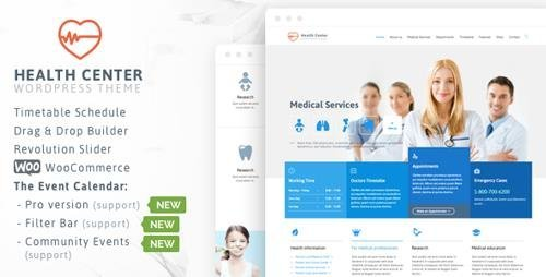 ThemeForest - Medical & Dentist v19.1 - Medical WordPress - 7322125