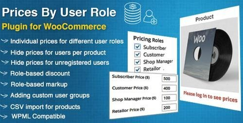 CodeCanyon - Prices By User Role for WooCommerce v4.0 - 8562616
