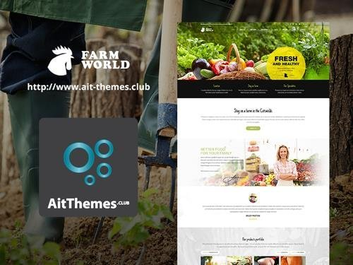 Ait-Themes - FarmWorld v1.28 - Food & Agriculture WordPress Theme