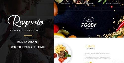 ThemeForest - Rozario v1.3 - Restaurant & Food WordPress Theme - 15854647