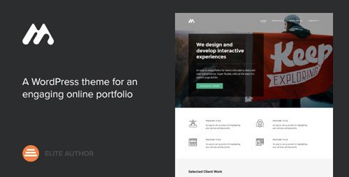 ThemeForest - Meth v2.0.1 - A Minimal One Page Portfolio Theme - 6790626