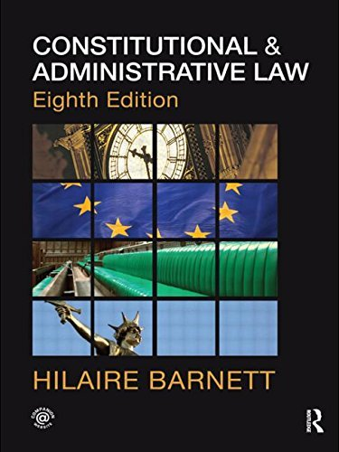 Hilaire Barnett Constitutional And Administrative Law Download