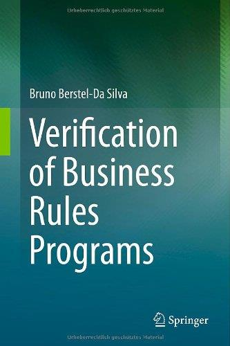Verification of Business Rules Programs (Repost)