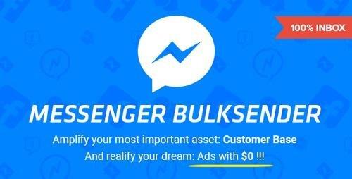 CodeCanyon - Facebook Messenger Bulksender v1.7 - 19344381