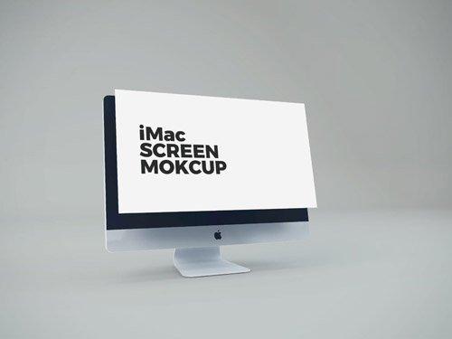 PSD Mock-Up - iMac Screen