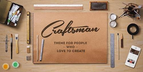 ThemeForest - Craftsman v1.5.9 - WordPress Craftsmanship Theme - 10859297