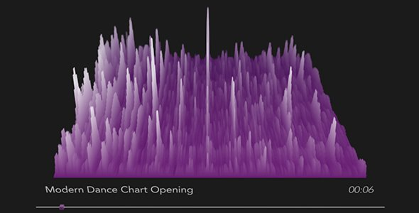 3D Audio Spectrum Visualizer - Project for After Effects (Videohive)