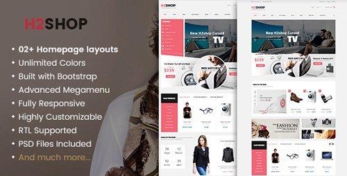 ThemeForest - H2shop v1.2.5 - Responsive WooCommerce Shop WordPress Theme - 13525855