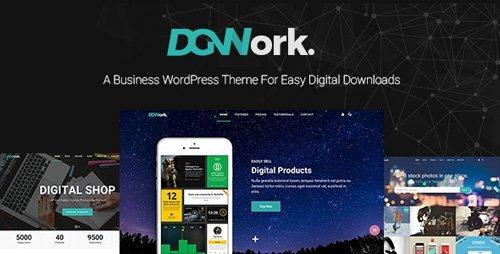 ThemeForest - DGWork v1.1.8.1 - Business Theme For Easy Digital Downloads - 18105506