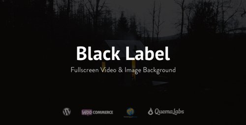 ThemeForest - Black Label v4.0.5 - Fullscreen Video & Image Background - 336949