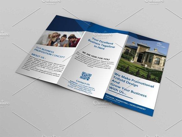 Real Estate Trifold Brochure V760 2038054