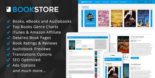 CodeCanyon - BookStore - Books, eBooks and Audiobooks Affiliate Script (Update 21 September 16) - 17509141