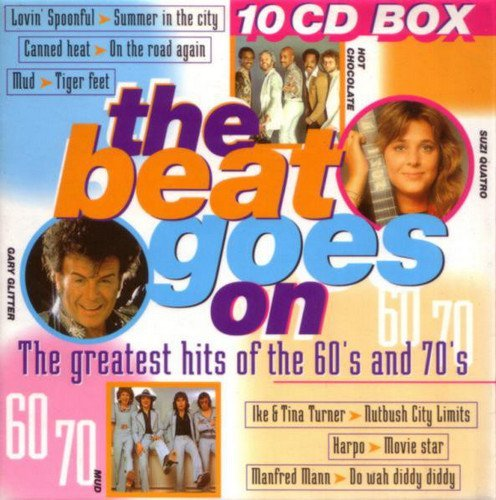 VA - The Beat Goes On - The Greatest Hits Of The 60's And 70's (10CD Box Set) (1998)