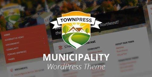 ThemeForest - TownPress v1.6  v2.0 beta - Municipality WordPress Theme - 11490395