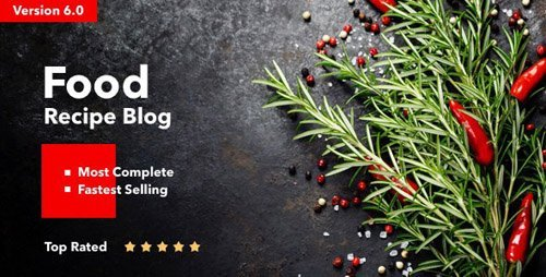 ThemeForest - Neptune v6.2.1 - Theme for Food Recipe Bloggers & Chefs - 12915290 - NULLED