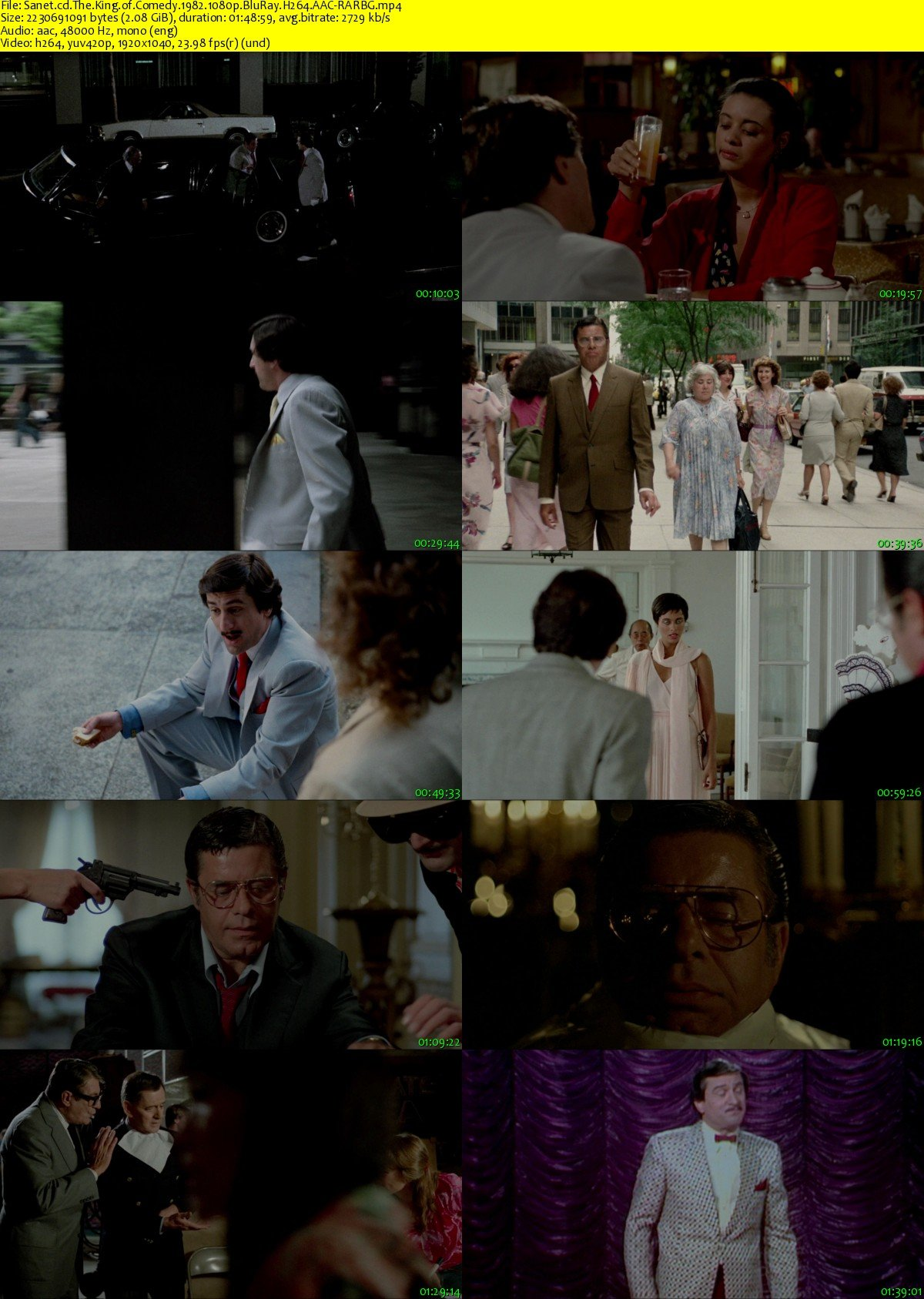 download the king of comedy 1982 1080p bluray h264 aac