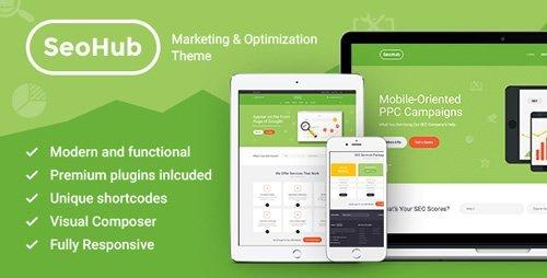ThemeForest - SEOHub v1.7 - SEO & Marketing WordPress Theme - 13538291