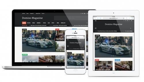 Domino Magazine 2.0.3   Best magazine WordPress theme