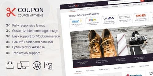 MyThemeShop - Coupon v1.2.6 - Best WordPress Coupon Theme You Always Wanted To Earn More