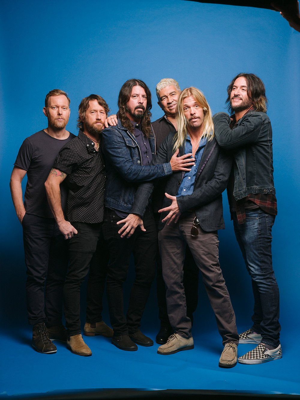 Foo Fighters Chris and Nate tell us how Medicine At Midnight came about