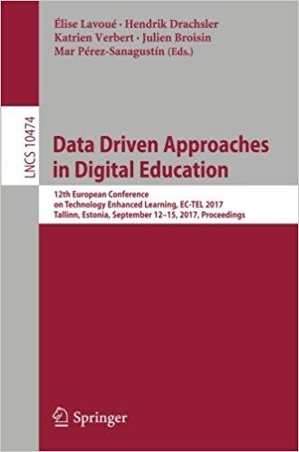 Data Driven Approaches in Digital Education: 12th European Conference