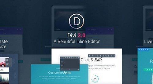 ElegantThemes - Divi v3.0.93 - WordPress Theme