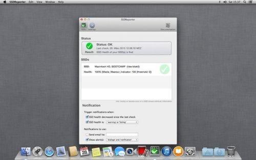 SSDReporter 1.1.0 macOS