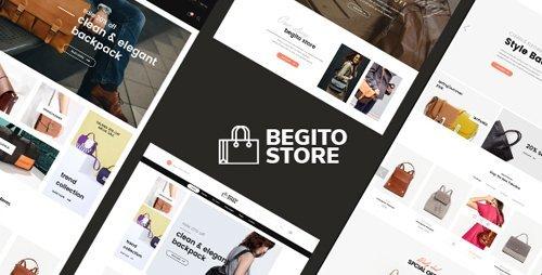 ThemeForest - Begito v1.0 - Bag Store Responsive Prestashop 1.7 Theme - 21112225