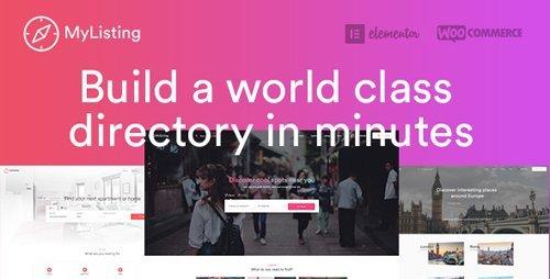 ThemeForest - MyListing v1.5.6 - Directory & Listing WordPress Theme - 20593226