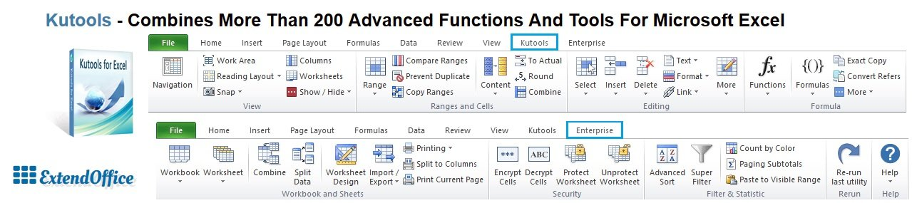 how to add kutools in excel