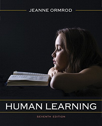 human learning by je ormrod essay